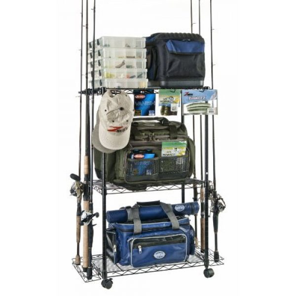 Fishing equipment and tackle storage